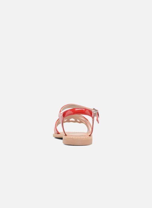 Sandalen I Love Shoes FIDELI rot ansicht von rechts