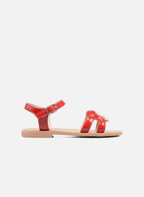 Sandalen I Love Shoes FIDELI rot ansicht von hinten