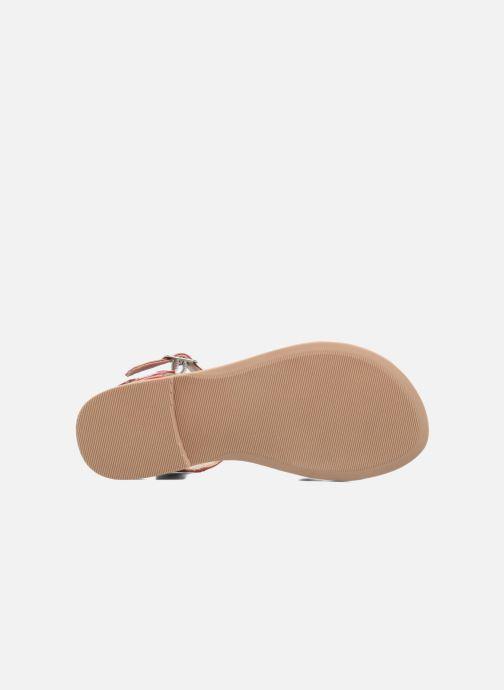 Sandales et nu-pieds I Love Shoes FIDELI Rouge vue haut