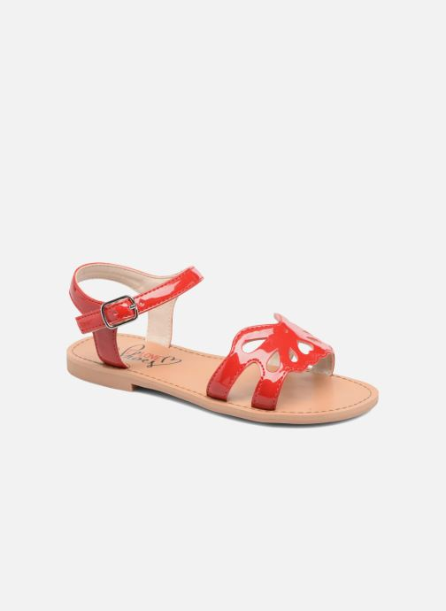 Sandals I Love Shoes FIDELI Red detailed view/ Pair view