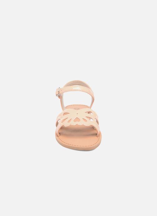 Sandales et nu-pieds I Love Shoes FIDELI Rose vue portées chaussures