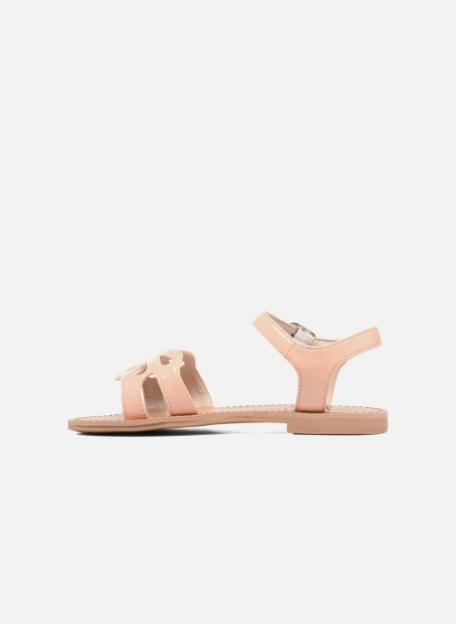 Sandales et nu-pieds I Love Shoes FIDELI Rose vue face