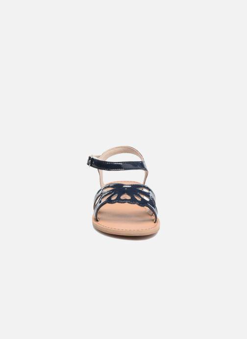 Sandales et nu-pieds I Love Shoes FIDELI Bleu vue portées chaussures
