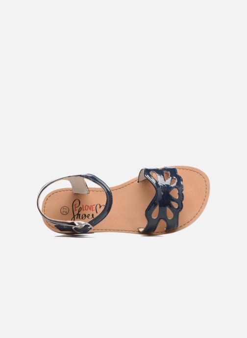 Sandales et nu-pieds I Love Shoes FIDELI Bleu vue gauche