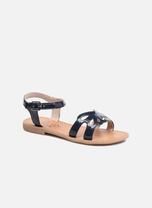 Sandales et nu-pieds I Love Shoes FIDELI Bleu vue détail/paire