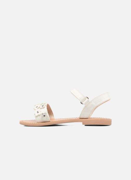 Sandals I Love Shoes FAME White front view