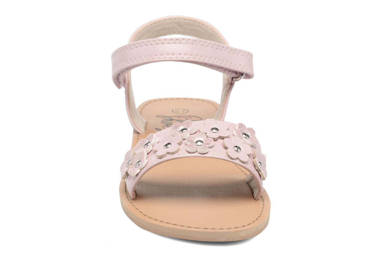 Sandales et nu-pieds I Love Shoes FAME Rose vue portées chaussures
