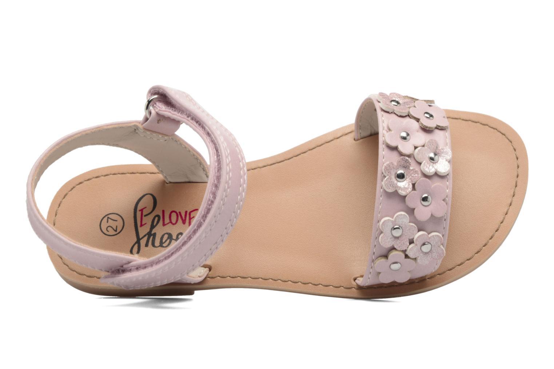 Sandales et nu-pieds I Love Shoes FAME Rose vue gauche