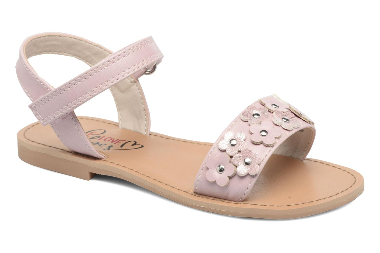 Sandales et nu-pieds I Love Shoes FAME Rose vue détail/paire