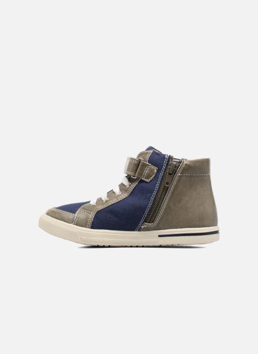 Baskets I Love Shoes FELIX Gris vue face