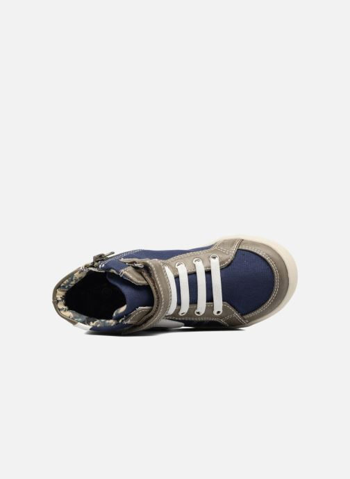 Sneaker I Love Shoes FELIX grau ansicht von links