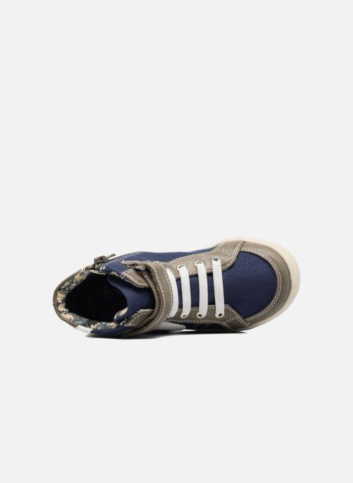Sneaker I Love Shoes FELIX grau ansicht von links
