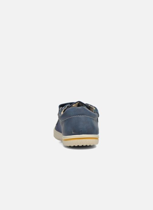 Baskets I Love Shoes FILLIP Bleu vue droite