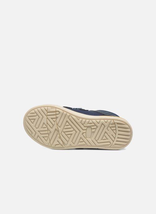 Baskets I Love Shoes FILLIP Bleu vue haut