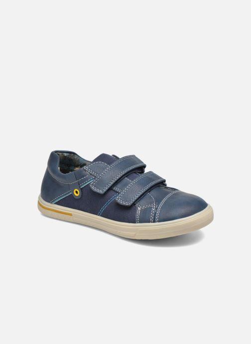 Baskets I Love Shoes FILLIP Bleu vue détail/paire