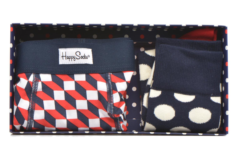Chaussettes et collants Happy Socks Filled Optic Men's Trunk & Sock Combo Multicolore vue gauche
