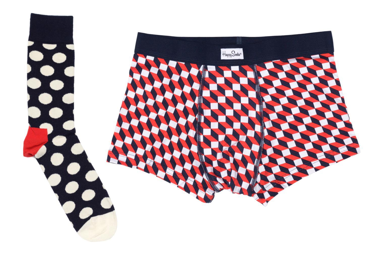 Chaussettes et collants Happy Socks Filled Optic Men's Trunk & Sock Combo Multicolore vue détail/paire