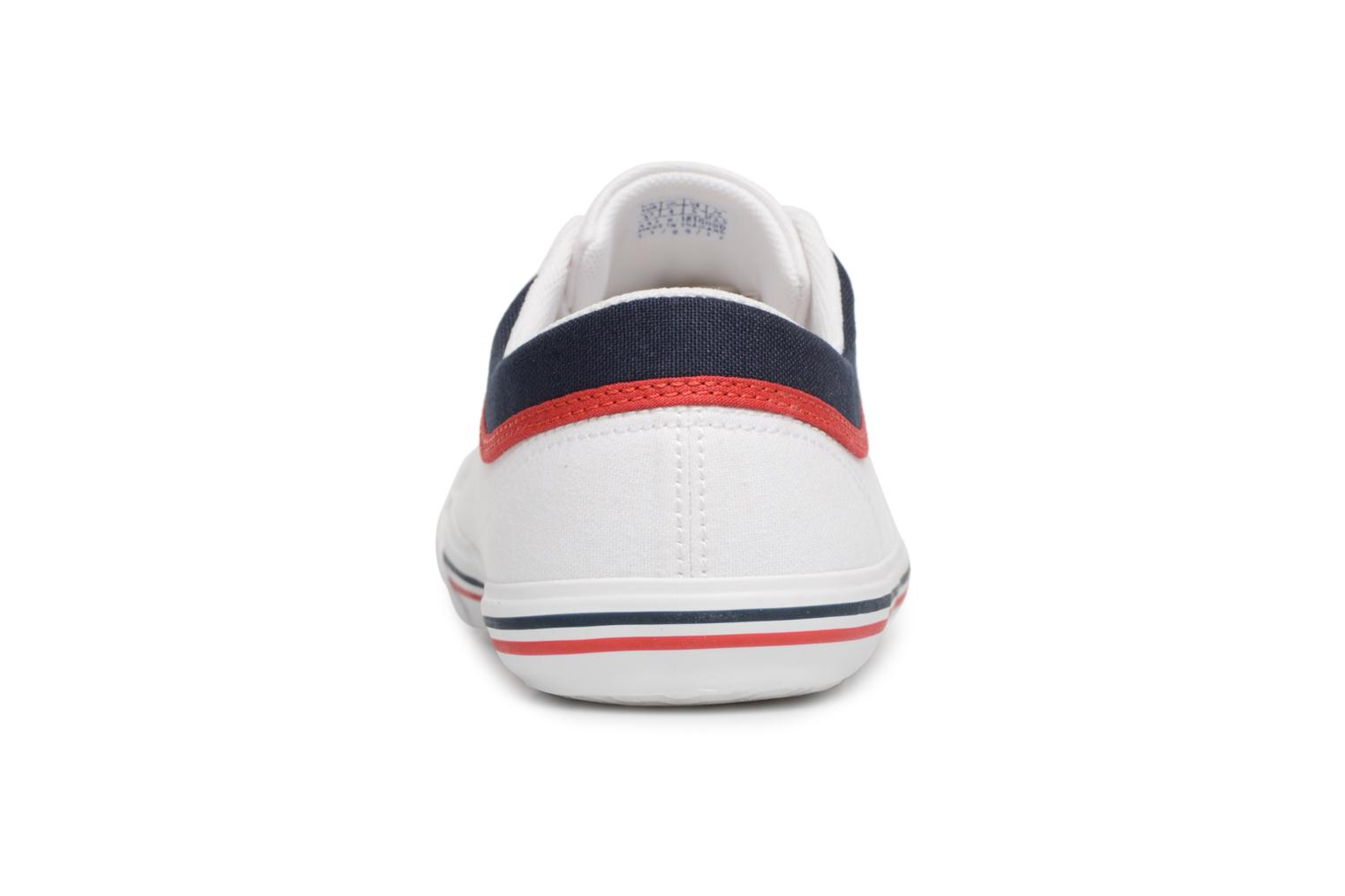 Trainers Le Coq Sportif Saint Gaetan GS White view from the right