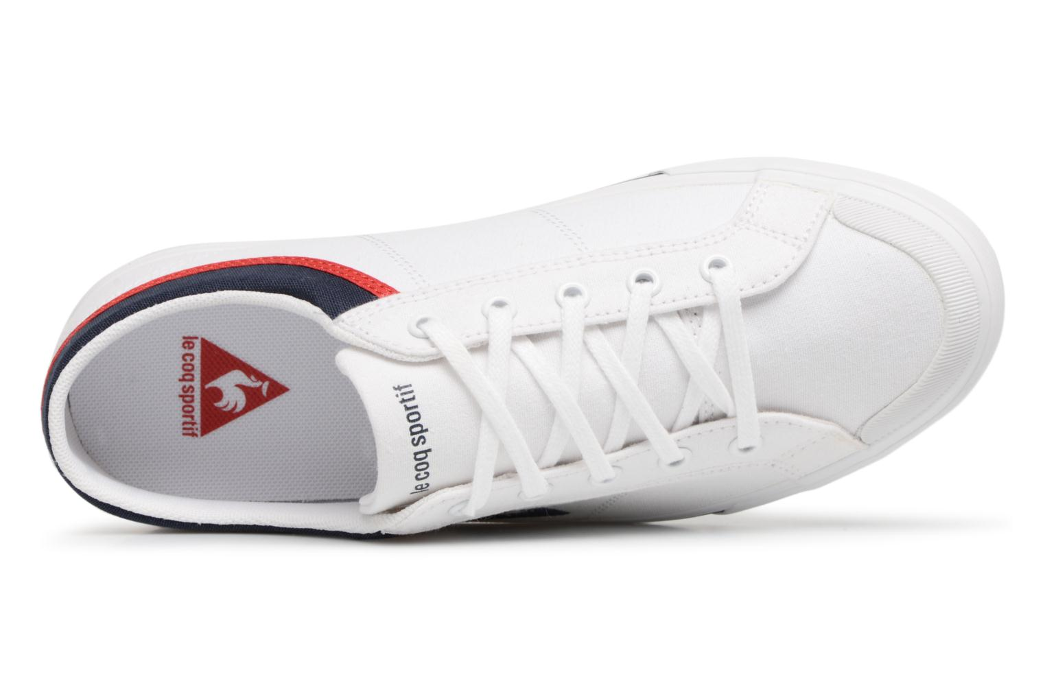 Trainers Le Coq Sportif Saint Gaetan GS White view from the left