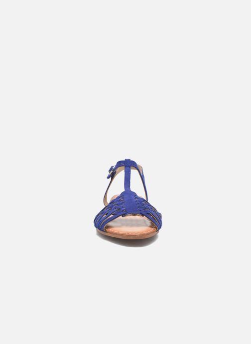 Sandales et nu-pieds I Love Shoes KETRES Leather Bleu vue portées chaussures