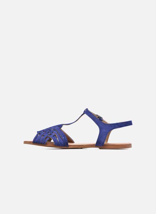 Sandales et nu-pieds I Love Shoes KETRES Leather Bleu vue face