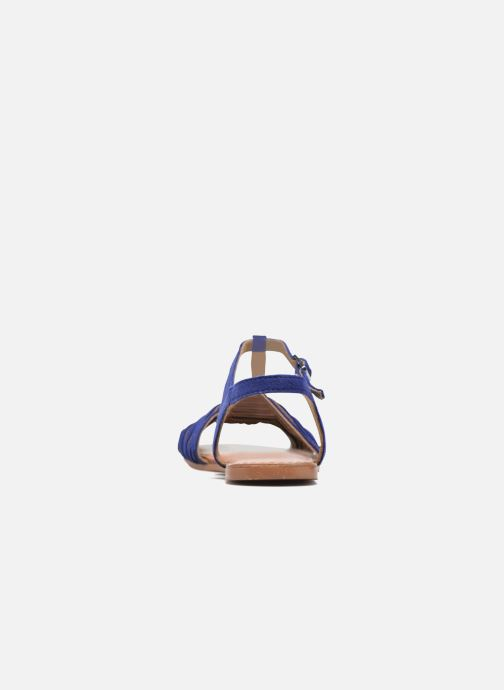 Sandales et nu-pieds I Love Shoes KETRES Leather Bleu vue droite
