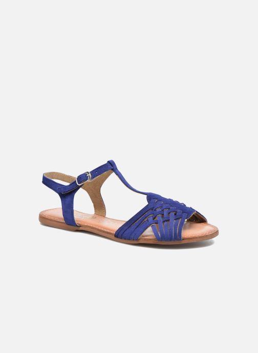 Sandales et nu-pieds I Love Shoes KETRES Leather Bleu vue détail/paire