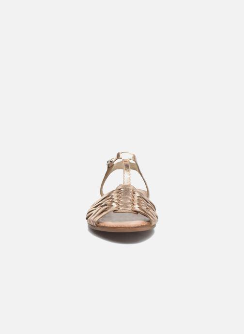 Sandalen I Love Shoes KETRES Leather gold/bronze schuhe getragen