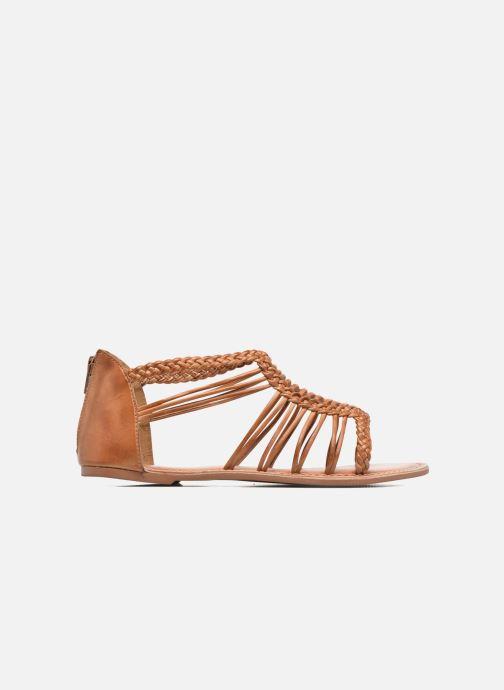 Sandales et nu-pieds I Love Shoes KEMIA Leather Marron vue derrière