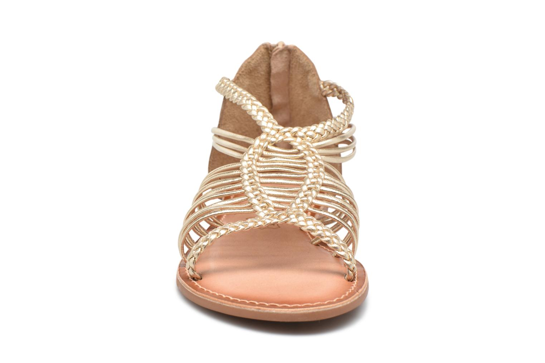 Sandalen I Love Shoes KEMIA Leather gold/bronze schuhe getragen