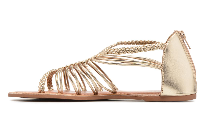 Sandalen I Love Shoes KEMIA Leather gold/bronze ansicht von vorne