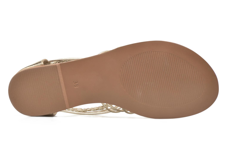 Sandalen I Love Shoes KEMIA Leather gold/bronze ansicht von oben