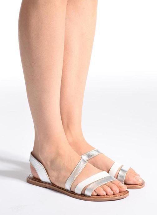 Sandalen I Love Shoes KEUNI Leather Goud en brons onder