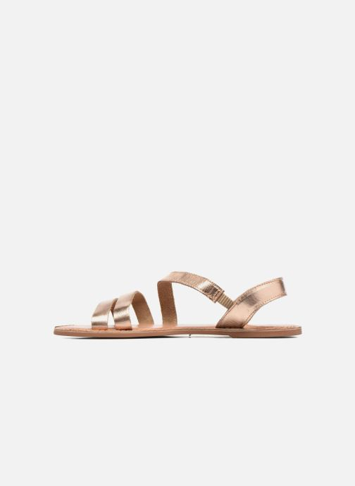 Sandalen I Love Shoes KEUNI Leather Goud en brons voorkant