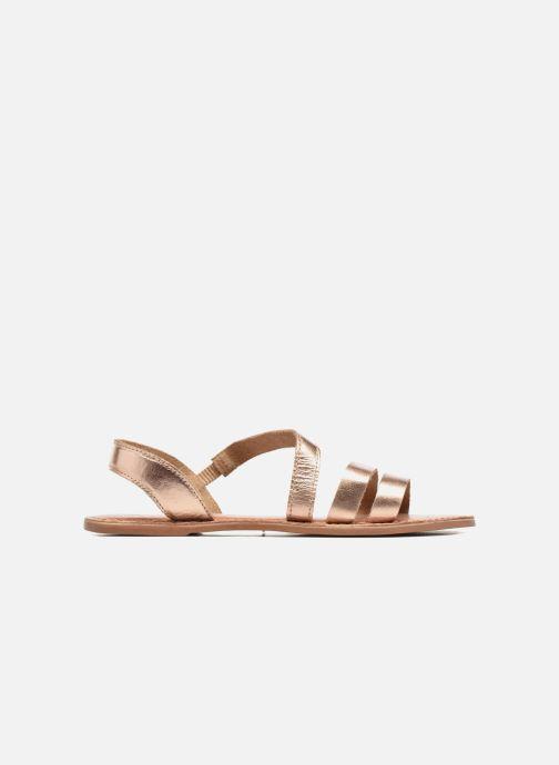 Sandalen I Love Shoes KEUNI Leather Goud en brons achterkant