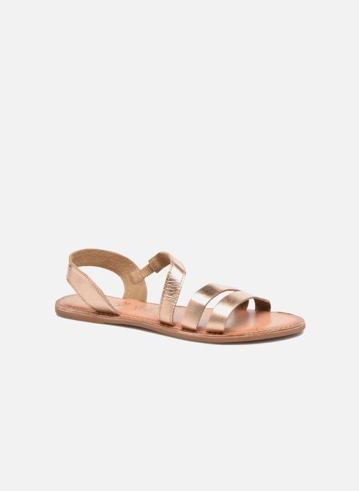 Sandalen I Love Shoes KEUNI Leather Goud en brons detail