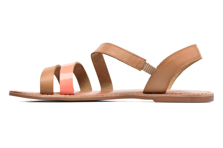 Sandalias I Love Shoes KEUNI Leather Marrón vista de frente