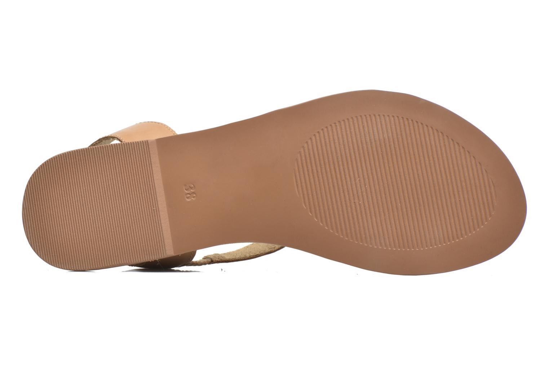 Sandalias I Love Shoes KEUNI Leather Marrón vista de arriba