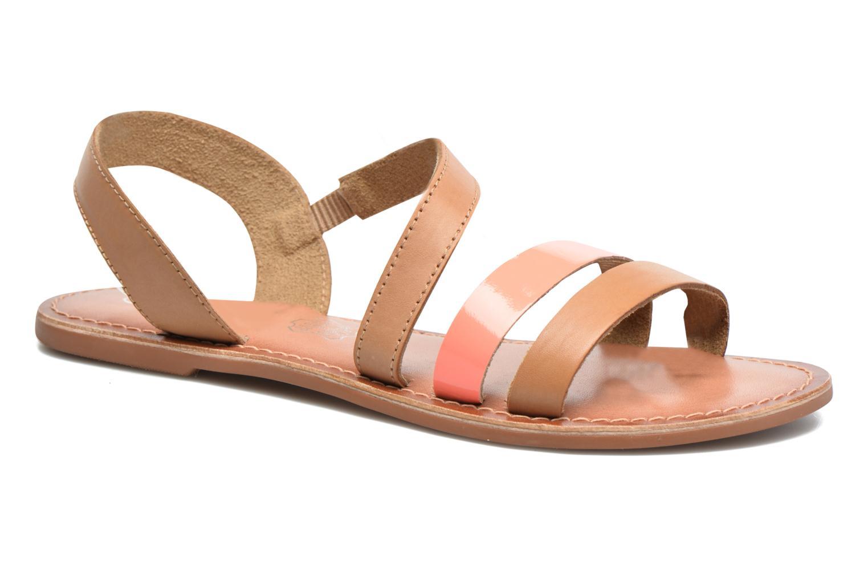 Sandalias I Love Shoes KEUNI Leather Marrón vista de detalle / par