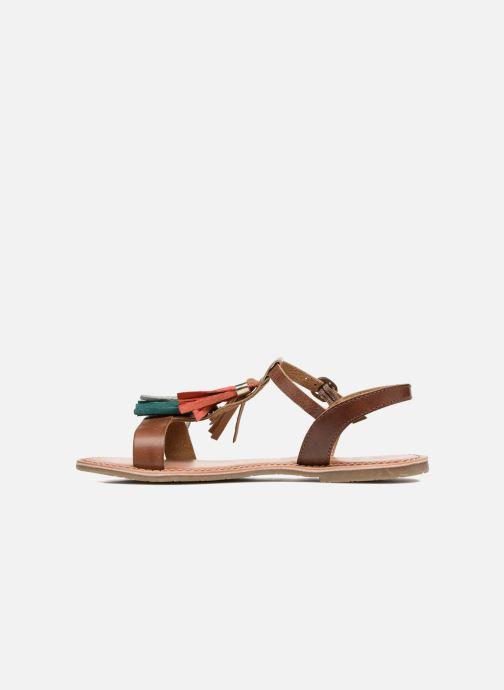 Sandalias I Love Shoes KEPOM Leather Marrón vista de frente