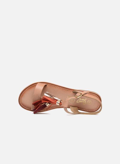 Sandales et nu-pieds I Love Shoes KEPOM Leather Marron vue gauche
