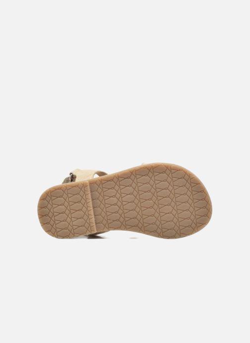 Sandalias I Love Shoes KEFRAN Leather Oro y bronce vista de arriba