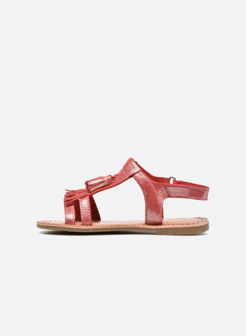 Sandalias I Love Shoes KEFRAN Leather Rojo vista de frente