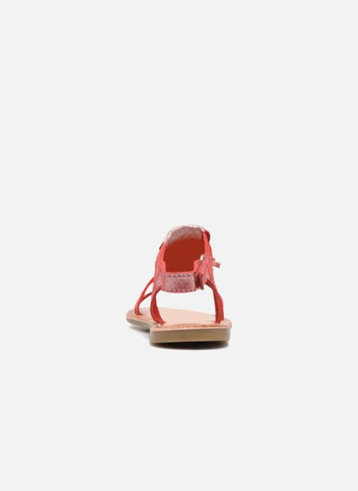 Sandalias I Love Shoes KEFRAN Leather Rojo vista lateral derecha