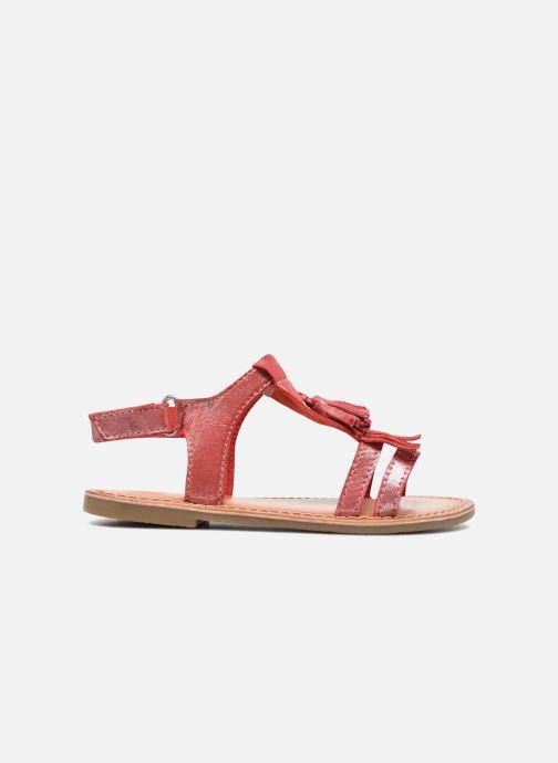 Sandales et nu-pieds I Love Shoes KEFRAN Leather Rouge vue derrière