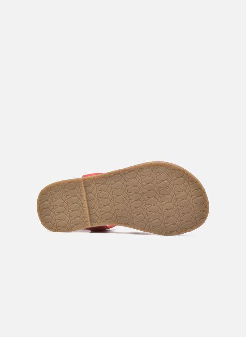 Sandali e scarpe aperte I Love Shoes KEFRAN Leather Rosso immagine dall'alto