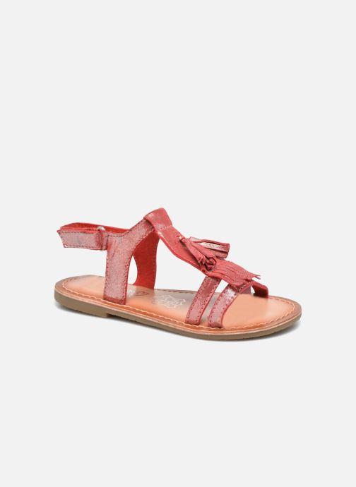 Sandales et nu-pieds I Love Shoes KEFRAN Leather Rouge vue détail/paire