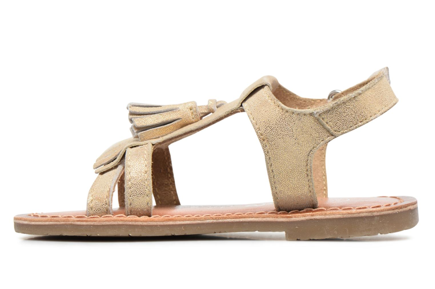Sandales et nu-pieds I Love Shoes KEFRAN Leather Or et bronze vue face