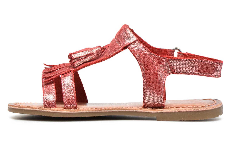Sandalen I Love Shoes KEFRAN Leather rot ansicht von vorne