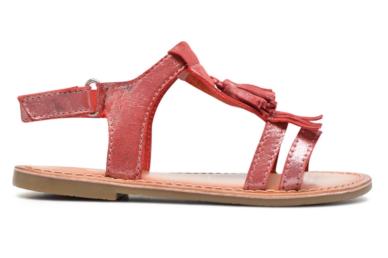 Sandalen I Love Shoes KEFRAN Leather rot ansicht von hinten